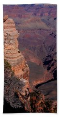 Beach Towel featuring the photograph Grand Canyon 11 by Donna Corless