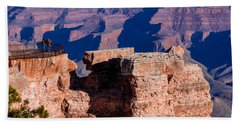 Grand Canyon 16 Beach Sheet by Donna Corless