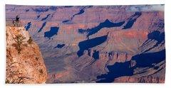 Grand Canyon 18 Beach Sheet by Donna Corless