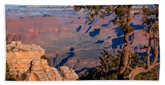 Beach Towel featuring the photograph Grand Canyon 20 by Donna Corless