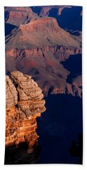 Beach Towel featuring the photograph Grand Canyon 24 by Donna Corless