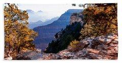 Grand Canyon 26 Beach Sheet by Donna Corless