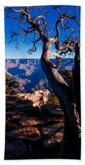 Grand Canyon 27 Beach Sheet by Donna Corless