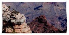 Grand Canyon 3 Beach Sheet by Donna Corless