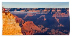 Beach Towel featuring the photograph Grand Canyon 35 by Donna Corless