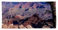 Beach Towel featuring the photograph Grand Canyon 7 by Donna Corless