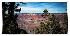 Grand Canyon, Arizona Usa Beach Towel by James Bethanis