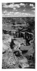 Grand Canyon Bw Beach Towel by RicardMN Photography