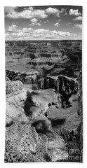 Grand Canyon Bw Beach Sheet by RicardMN Photography