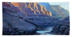 Grand Canyon Dawns Beach Sheet