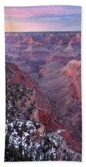 Grand Canyon Dusk 1 Beach Towel by Greg Nyquist