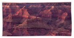 Grand Canyon Dusk 2 Beach Towel by Greg Nyquist