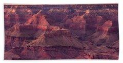 Grand Canyon Dusk 2 Beach Sheet by Greg Nyquist