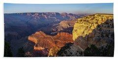 Grand Canyon Evening Beach Towel