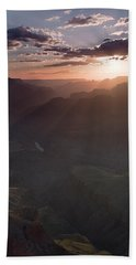 Grand Canyon Glow Beach Towel