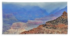Grand Canyon Levels Beach Sheet by Debby Pueschel
