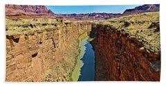 Grand Canyon National Park Colorado River Beach Sheet