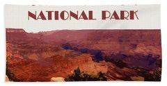 Grand Canyon National Park Poster Beach Towel