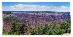 Grand Canyon North Rim View Beach Towel