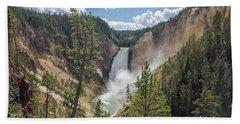 Grand Canyon Of Yellowstone Beach Sheet