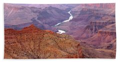 Grand Canyon River View Beach Towel