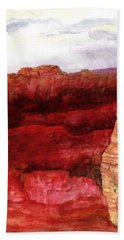 Grand Canyon S Rim Beach Towel by Eric Samuelson