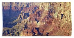 Beach Towel featuring the photograph Grand Canyon South Rim by Norman Hall
