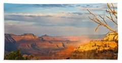 Grand Canyon Splendor Beach Sheet by Heidi Smith