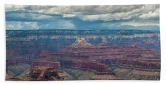 Grand Canyon Storms Beach Sheet by Kirt Tisdale