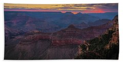Grand Canyon Sunrise Beach Towel