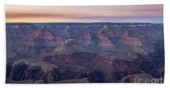 Grand Canyon Sunset Beach Towel by JR Photography