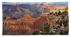 Grand Canyon View Beach Sheet by Debby Pueschel