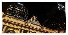 Grand Central Nocturne Beach Sheet by Steven Richman
