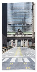 Grand Central Station In New York City Beach Towel