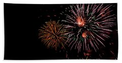 Grand Finale 3 Beach Towel by Suzanne Luft