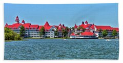 Grand Floridian Resort And Spa Mp Beach Towel