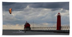 Grand Haven Wind Surfing Beach Towel