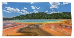 Grand Prismatic Beach Towel