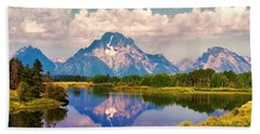 Grand Teton Beach Sheet