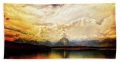 Grand Tetons - Jenny Lake No. 2 Beach Sheet