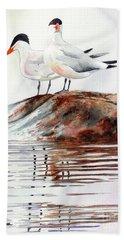 Grand Traverse Terns Beach Towel