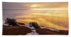 Grand View Glow Beach Towel