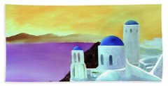 Grandeur Of Greece Beach Towel