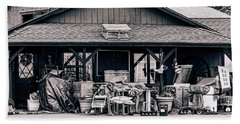 Beach Towel featuring the photograph Grandma's Attic by Donna Lee