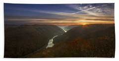 Grandview Sunrise Beach Towel