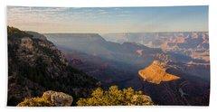 Grandview Sunset - Grand Canyon National Park - Arizona Beach Sheet by Brian Harig