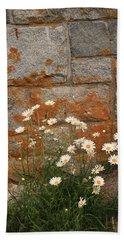 Granite Daisies Beach Towel