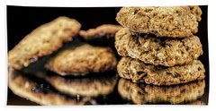 Beach Sheet featuring the photograph Granola Cookies by Shirley Mangini