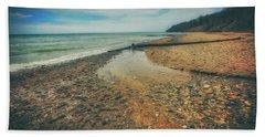 Grant Park - Lake Michigan Beach Beach Towel by Jennifer Rondinelli Reilly - Fine Art Photography