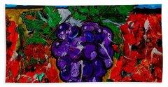Grape Jazz Beach Sheet